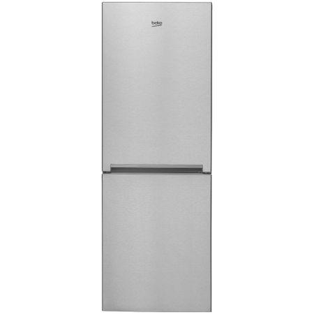 Хладилник с фризер Beko RCNA340K20XP, 302 л, Клас A+, NeoFrost, H 175.4 см, Инокс против отпечатъци