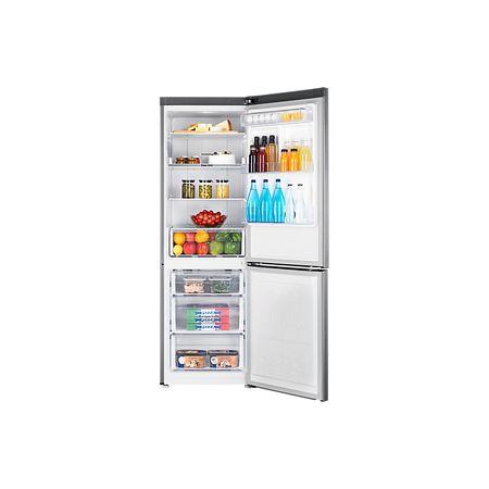 Хладилник с фризер Samsung RB33J3200SA/EF, 328 л, Клас A+, Височина 185 см, Metal Graphite