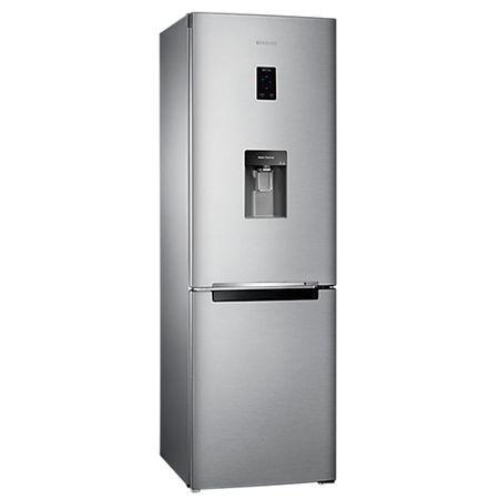 Хладилник с фризер Samsung RB33J3830SA/EF, 321 л, Клас A+, H 185 см, No Frost, Диспенсър за вода, Display, Metal Graphite