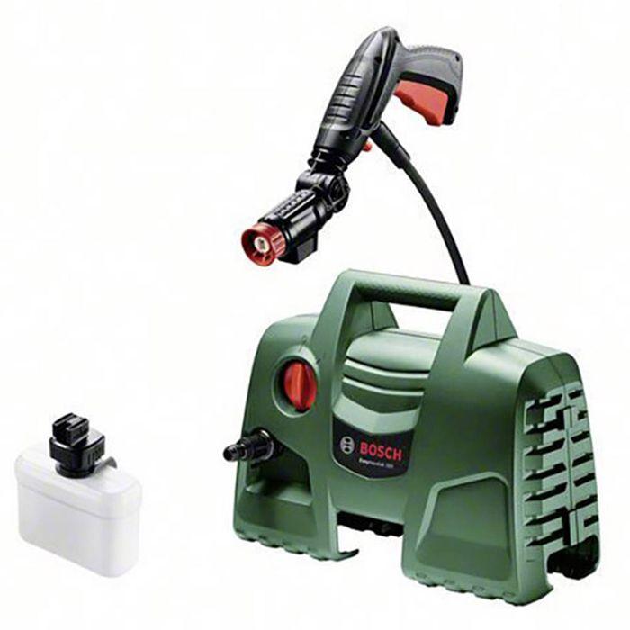 Водоструйка Bosch EasyAquatak 100, 1200W, 300 л/ч, 100 бара, Система за пяна