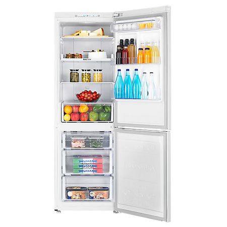 Хладилник с фризер Samsung RB31HSR2DWW, 306 л, NoFrost, Клас +, Височина 185 см, Бял
