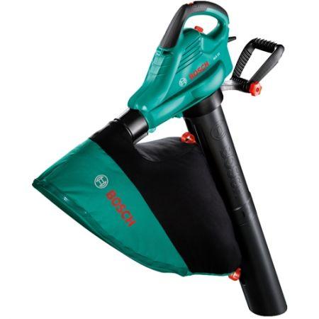 Листосъбирач/Въздуходувка Bosch ALS 25, 2500 W, Торба 45 л