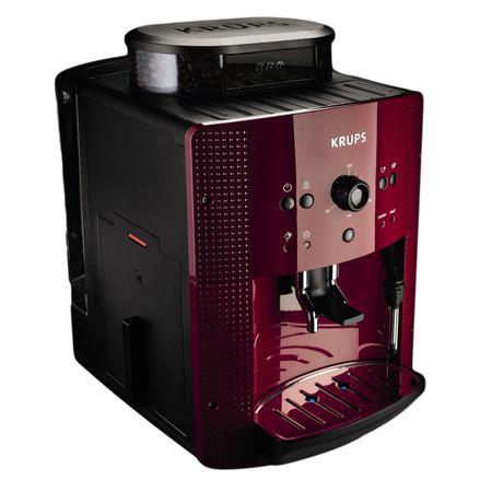 Еспресо машина Krups Espresseria Automatic EA8107, 1400W, 15 бара, 1.7 л, Червена