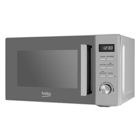 Микровълнова фурна Beko MOF20110X, 20 л, 800 W, Електронна, Таймер, Инокс