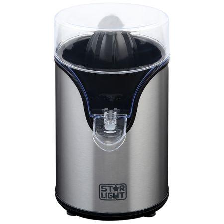 Цитрус преса Star-Light CJ-100W, 100 W, 0.34 л, 1 Скорост, Два конуса , Черна/Инокс