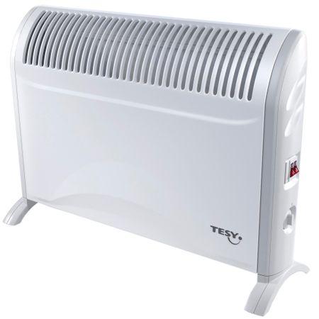 Подов конвектор Tesy CN214ZF, 2000 W, 3 Степени, Защитен термостат, Терморегулатор
