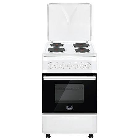 Електрическа готварска печка Star-Light FCF50FEW, 4 нагревателни зони, Електрическа фурна, 50 см, Бяла