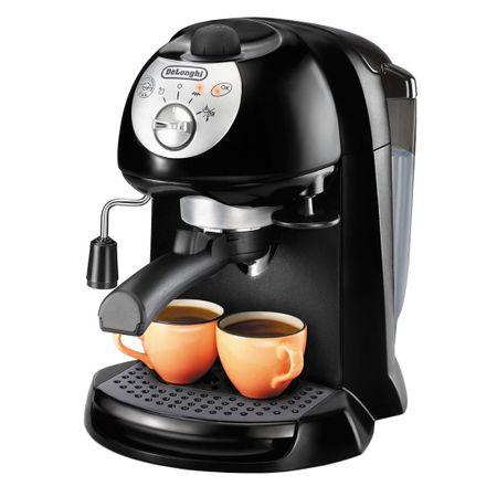 Еспресо машина с помпа Delonghi EC201B, 1050 W, 15 бара, Автоматично изключване, Черна