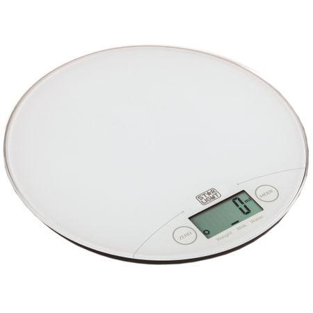 Кухненска везна Star-Light Slim Touch KSRW-1815, 5 кг, Бяла