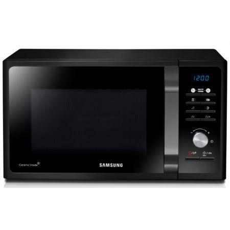 Микровълнова фурна Samsung MG23F301TAK, 23 л, 800 W, Функция грил, Дигитална, Черна