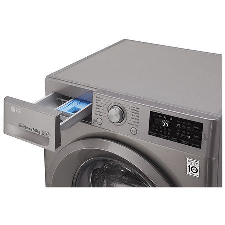 Пералня Slim LG F2J5WN7S, Direct Drive, 6.5 кг, 1200 об/мин, Клас A+++, 45 cм, Сребриста