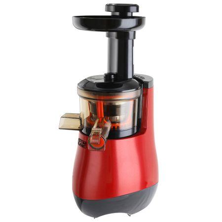 Сокоизстисквачка за плодове и зеленчуци Star-Light SJB-150R, 150 W, 55 об/мин, Контейнер за сок 1.0 л, Контейнер за отпадъци 0.8 л, Функция Reverse, Червена