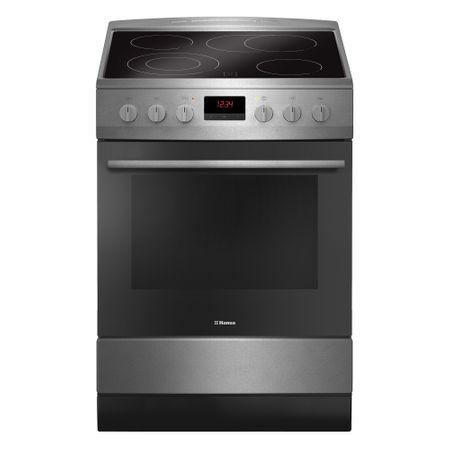 Електрическа готварска печка Hansa FCCX68219, 4 Нагревателни зони, Функция грил, Клас A, Инокс