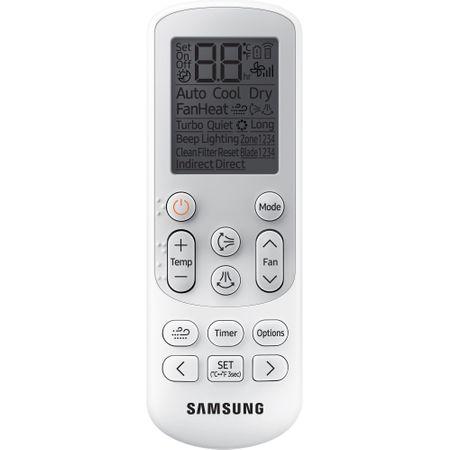 Климатик Samsung Triangle AR12NXWSAURNEU, 12000 BTU, Клас A++, Функция отопление, Smart Wi-Fi, Easy Filter Plus, R32