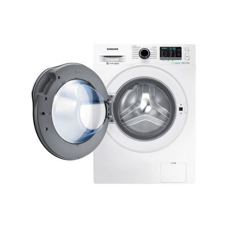Пералня със сушилня Samsung, WD70J5A10AW/LE, 1400 об/мин, 7 кг изпиране, 4 кг сушене, Eco Bubble, Дигитален инверторен двигател, Бяла