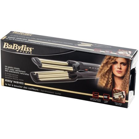 Ретро преса Babyliss Easy Waves C260E, 200 градуса, Технология Titanium