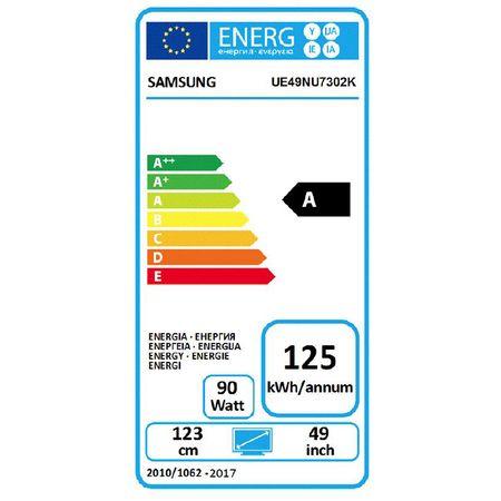 """Телевизор LED Smart Samsung, Извит, 49"""" (123 см), 49NU7302, 4K Ultra HD"""