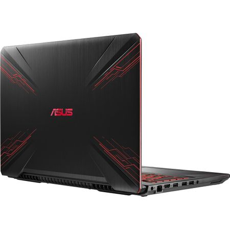 "Лаптоп Gaming ASUS TUF FX504GD-E4075 с процесор Intel® Core™ i7-8750H до 4.10 GHz, Coffee Lake, 15.6"", Full HD, 8 GB, 1 TB, nVIDIA® GeForce® GTX 1050 4 GB, Free DOS, Black"