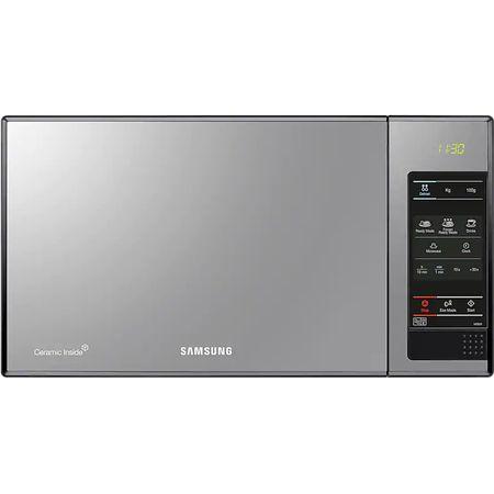 Микровълнова фурна Samsung Samsung ME 83 X, 800 W, 23 л, Черна/Сребриста