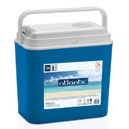 Хладилна кутия Atlantic, Електрическа, Захранване 12V, 24 л