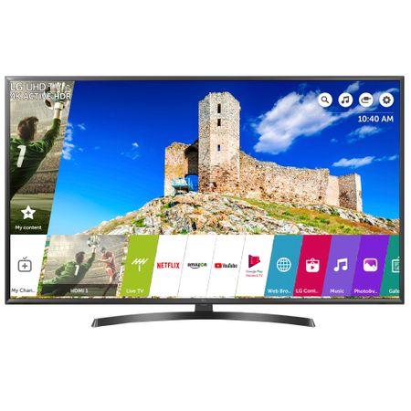 """Телевизор LED Smart LG, 43"""" (108 см), 43UK6470PLC, 4K Ultra HD"""