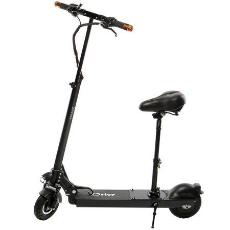 """Електрическа тротинетка скутер 2Drive, 8 """", Батерия 7.8 AH LG, Черна"""