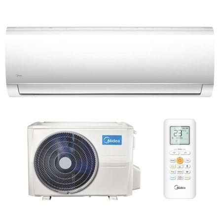 Климатик Midea Blanc, 9000 BTU, Клас A++, iECO режим, Follow Me, Двойна система за пречистване