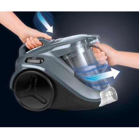 Прахосмукачка без торба Rowenta Compact Power 3A RO3786EA, 1.5 л, 750 W, Филтър с висока ефективност, Кафява