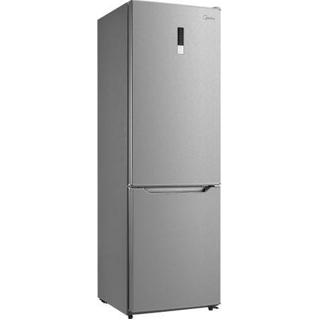 Хладилник с фризер Midea HD-400RWEN1, 295 л, Клас A+, Total No Frost, Височина 188 см, Inox