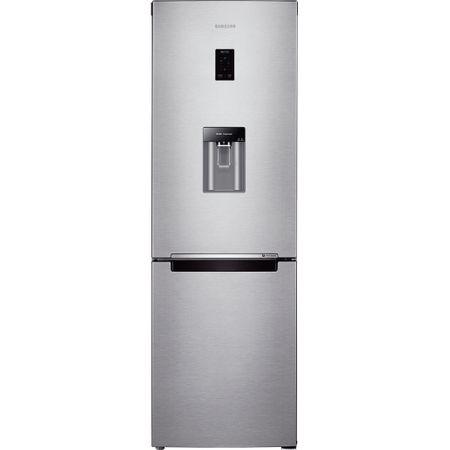 Хладилник с фризер Samsung RB33J3830SA/EF, 321 л, Клас A+, H 185 см, No Frost, Диспенсър за вода, Digital Inverter компресор, Display, Metal Graphite