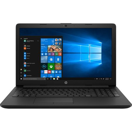 "Лаптоп HP 15-da0190nq with processor Intel® Core™ i3 7020U 2.30 GHz, Kaby Lake, 15.6"", 4GB, 1TB, Intel® HD Graphics 620, Microsoft Windows 10, Black"