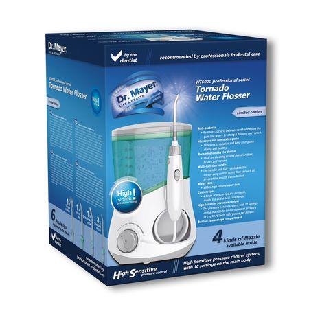Зъбен душ Dr. Mayer WT6000, Professional, Зелен