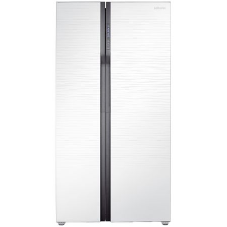 Двукрилен хладилник Side by side Samsung RS552NRUA1J, 538 л, Клас A+, Full No Frost, Височина 179 cм, Бял