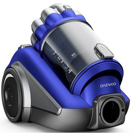 Прахосмукачка без торба Daewoo RCC-250L/3A 800 W 3 л Метална телескопична тръба Синя