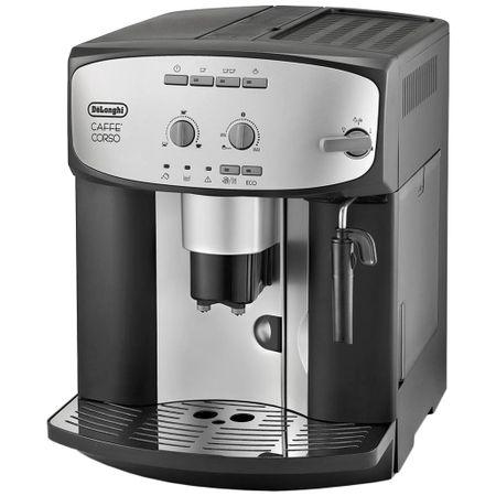 Кафеавтомат De'Longhi Caffè Corso ESAM 2800.SB, 1450 W, 15 бара, 1.8 л, Устройство за пяна, Черен