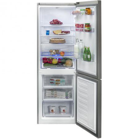 Хладилник с фризер Beko RCSA365K20XP, 365 л, H 185.3 см, Клас A+, Active Fresh BlueLight, Сребрист