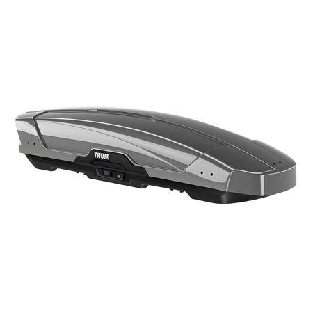 Автобокс Thule Motion XT Sport, Двойно отваряне, Сив/Лъскаво титаниево, 300 л