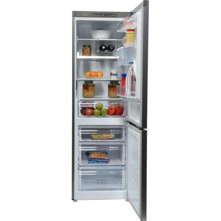 Хладилник с фризер Samsung RB31FWRNDSA, 310 л, Клас A+, Full No Frost, Compresor Digital Inverter, H 185 cм, Сребрист