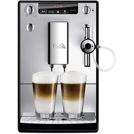 Кафеавтомат Melitta® SOLO & Perfect Milk, 15 bar, Система за разпенване на мляко, 1,2 л, Silver