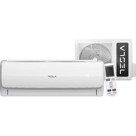Климатик TESLA Wi-Fi, 12000 BTU, Клас A++, Антибактериален филтър, I Feel, Функция Turbo, TA35LLIL-1232IAW, R32