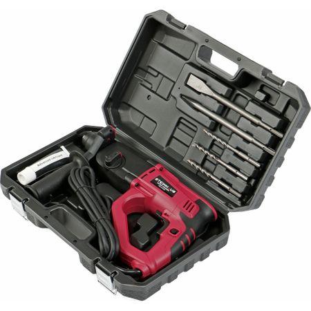 Перфоратор Steinhaus PRO-RH1050, 1050W, 1000 об/мин, 2.8J, Патронник SDS-Plus, 4 функции, kitbox + аксесоари