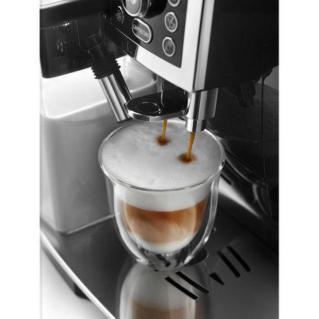 Кафеавтомат DeLonghi ECAM 23.460 B, 15 bar, 1450W, Метална кафемелачка, Автоматично капучино
