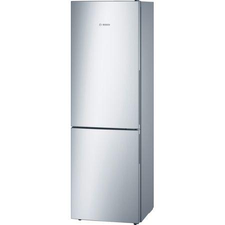 Хладилник с фризер Bosch KGV36UL30, 309 л, Клас A++, Low Frost, VarioZone, H 186 см, Инокс