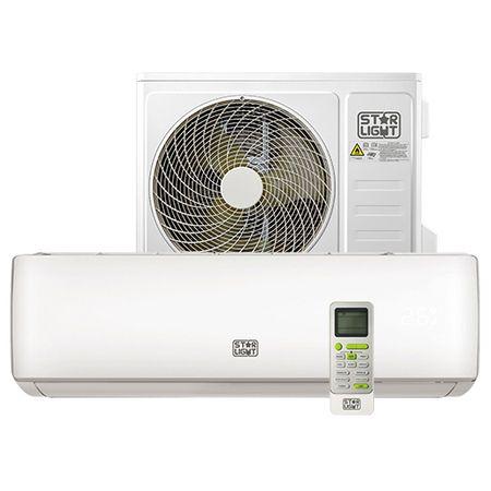 Климатик Star-Light ACT-12ETL, 3D Inverter, 12000 BTU, Функция отопление, Клас A++, Дисплей, Бял