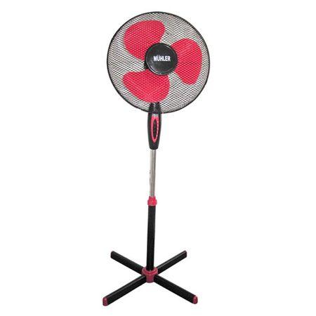 Вентилатор MUHLER FM-5071, Черно/Червено