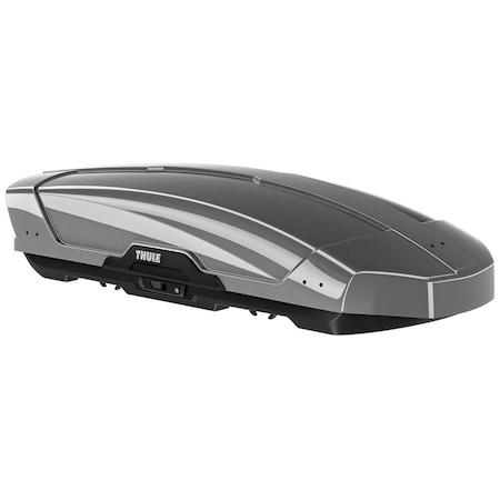 Автобокс Thule Motion XT Alpine Titan, Двустранно отваряне, Сив лак, 450 л, 232 x 95 x 35 cм