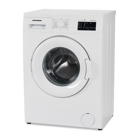 Пералня Heinner HWM-6010VA++, 6kg, 1000 об/мин, Клас A++, LED дисплей, Функция отложен старт, Система Eco Logic, 60 см, Бяла