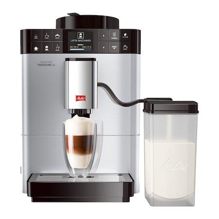Кафеавтомат Automat Melitta® Passione OT, Система за разпенване на мляко One-Touch, 5 степени на смилане